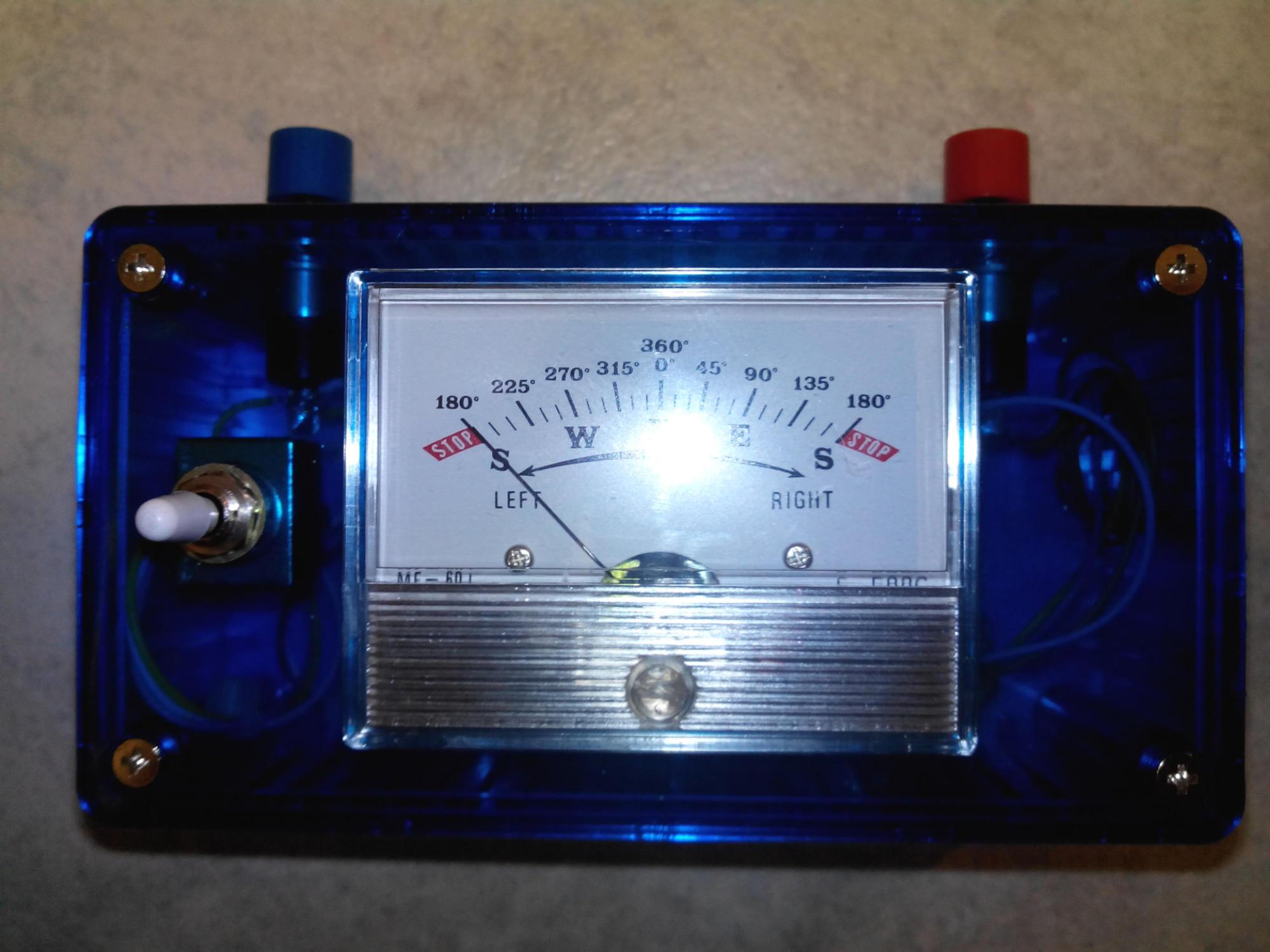 Remote Control Interface for Rotor Yaesu G-400